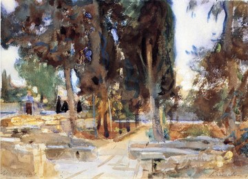 Jerusalem landscape John Singer Sargent Oil Paintings